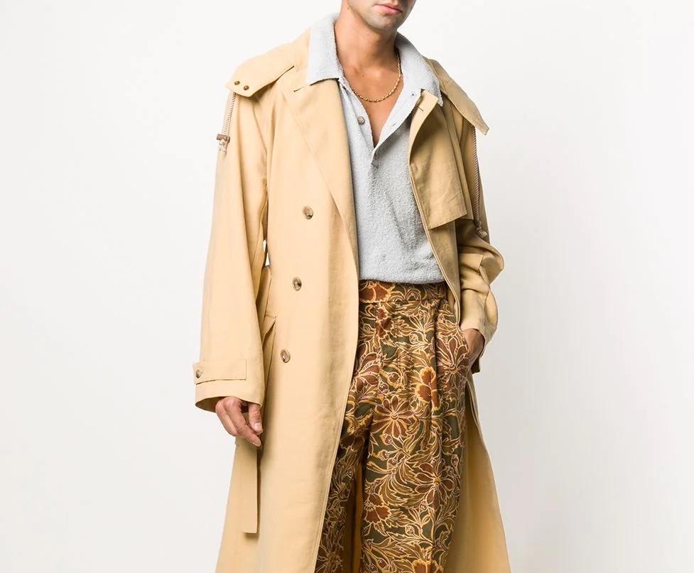 PAUSE or Skip: Nanushka Herb Oversized Trench Coat