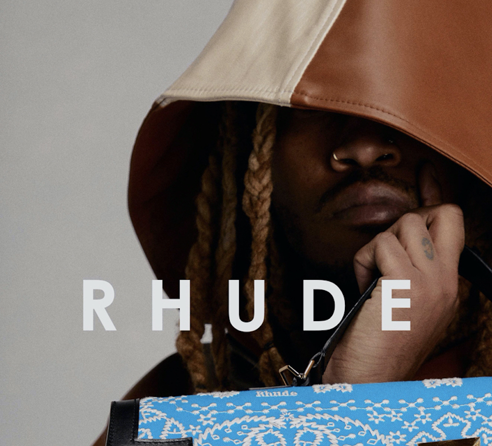 Rhude Debut Spring/Summer 2021 Campaign featuring Future