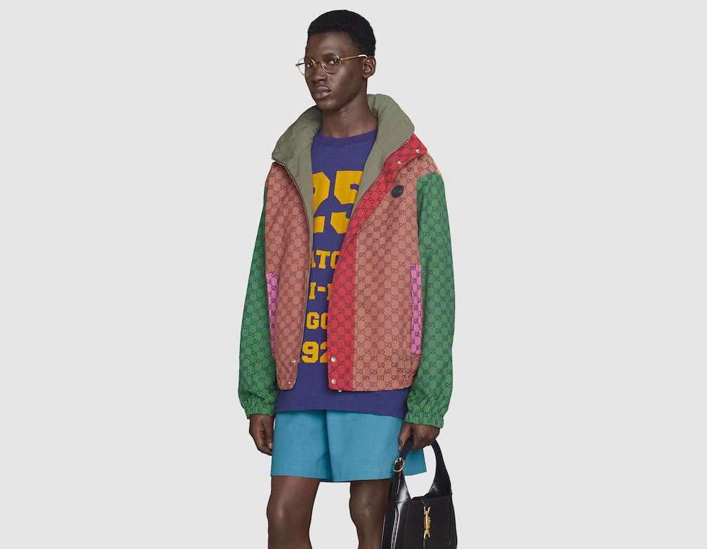 PAUSE or Skip: Gucci Multicolour Canvas Jacket