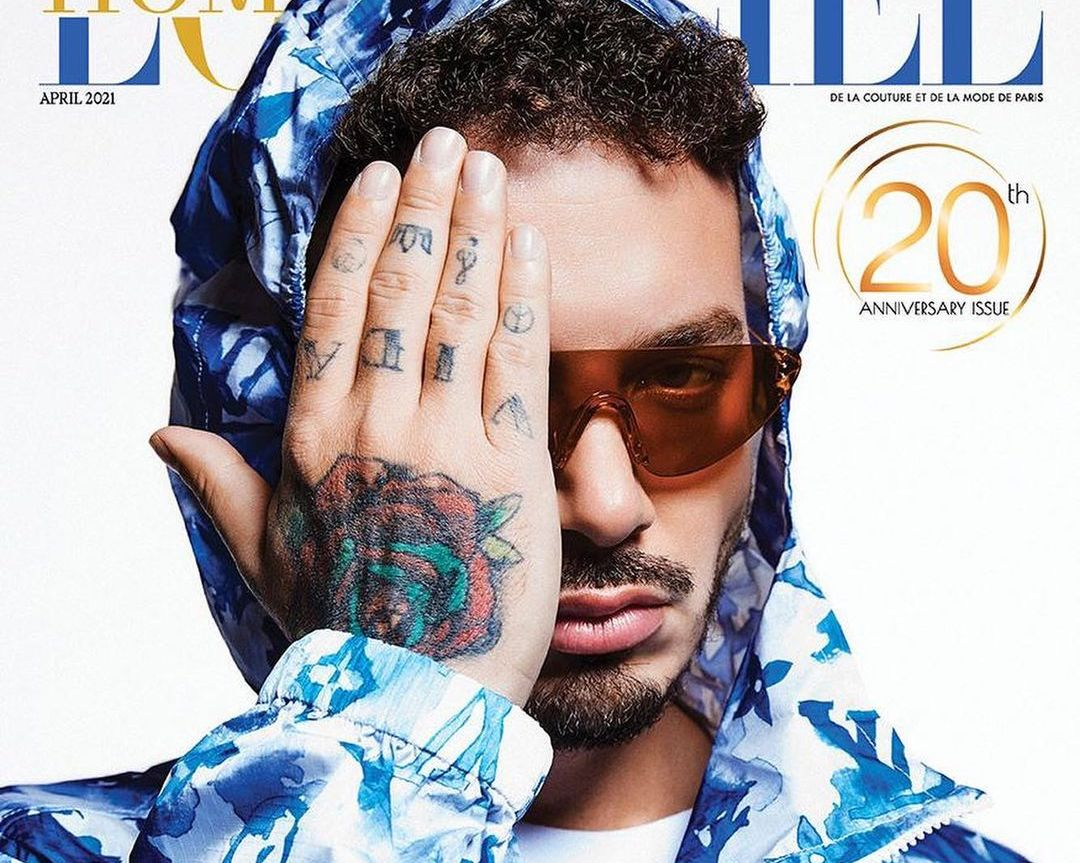 SPOTTED: J Balvin Covers L'Officiel India's April 2021 Issue