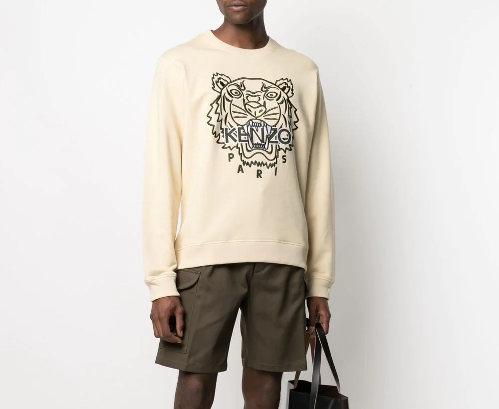 PAUSE or Skip: Kenzo Tiger Embroidered Sweatshirt