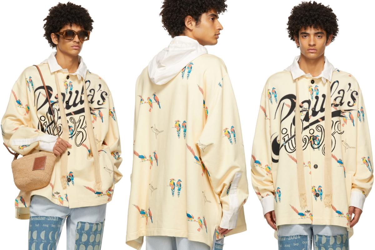 PAUSE or Skip: LOEWE Paula's Ibiza Parrot Hooded Jacket