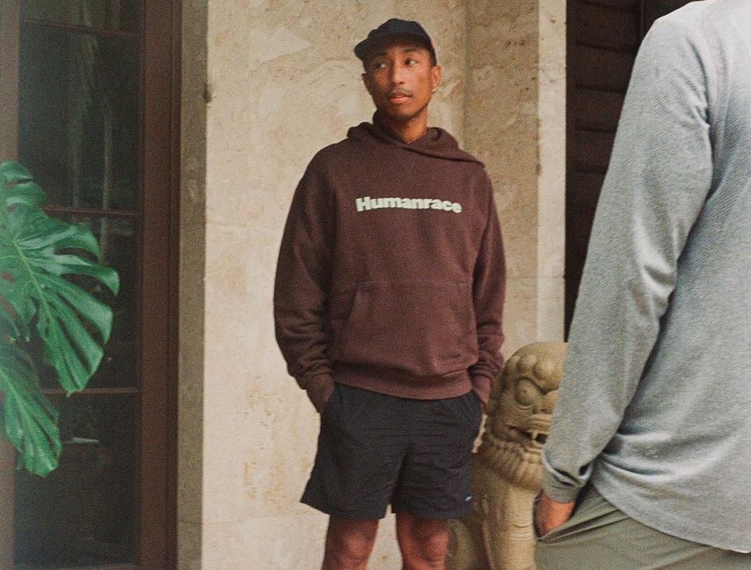 SPOTTED: Pharrell Williams keeps it Casual in Human Race Hoodie