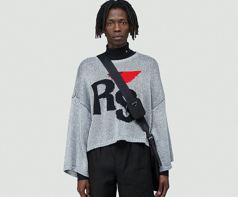 PAUSE or Skip: Raf Simons 'RS' Grey Sweater
