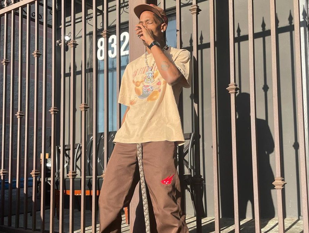 SPOTTED: Travis Scott Spotlights his Latest All-Brown Getup