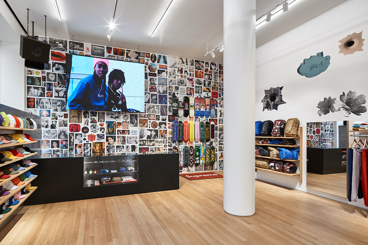 A Look Inside Supreme's new Milan Store