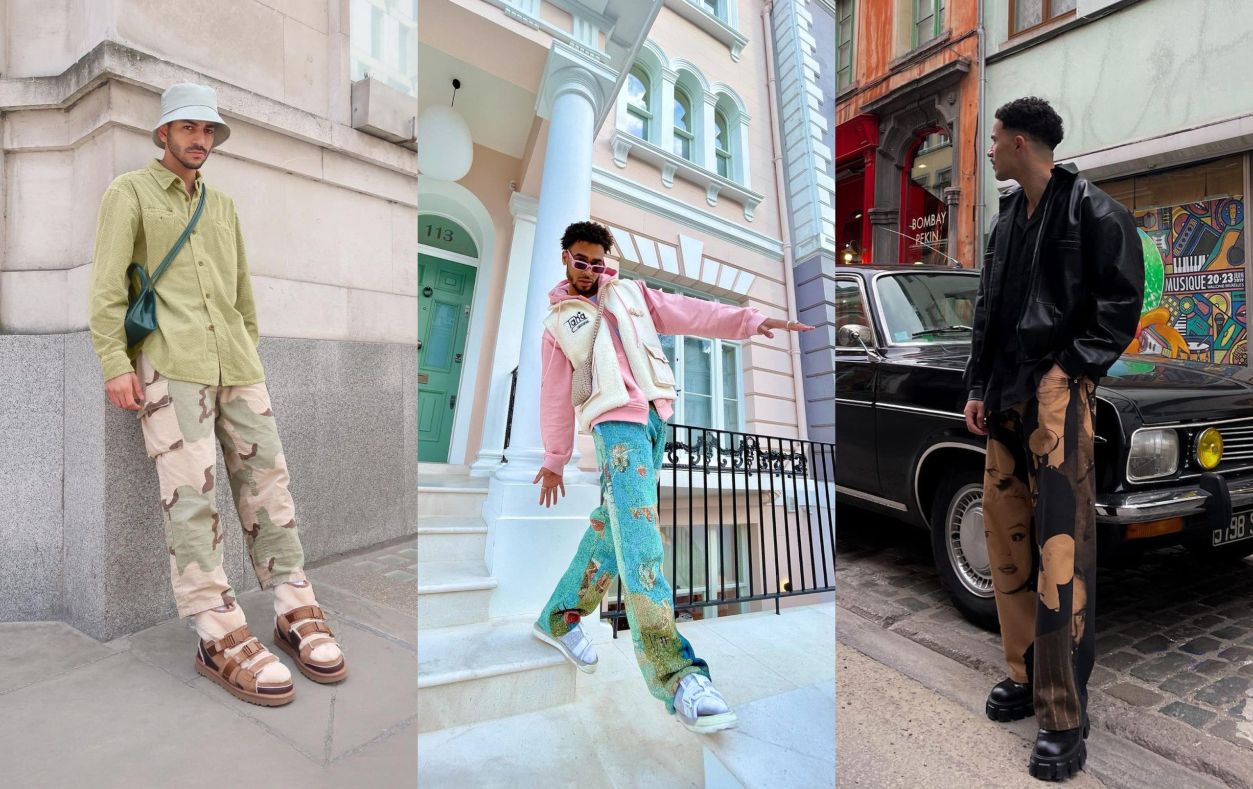 PAUSE Highlights: Printed Trousers