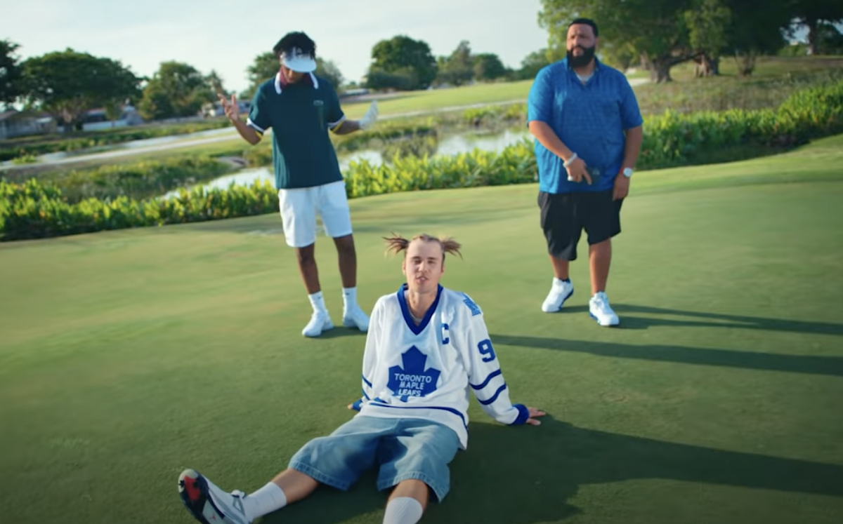 SPOTTED: Justin Bieber in 'Let It Go' Music Video featuring DJ Khaled and 21 Savage