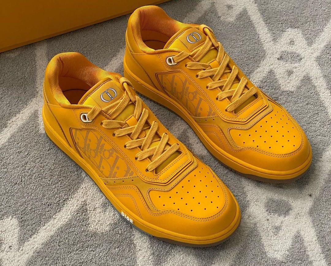 Daniel Arsham Peeps new Dior Men Yellow Sneakers