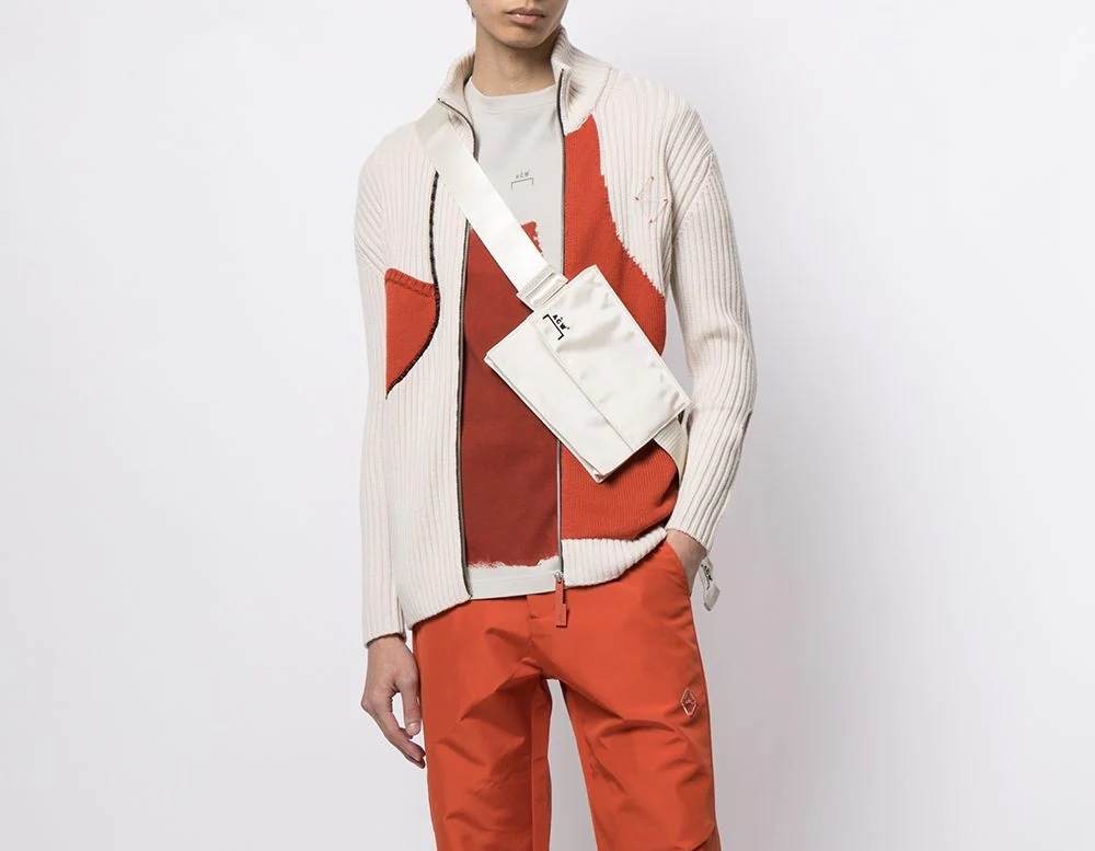PAUSE or Skip: A-COLD-WALL* Colour Block Cardigan