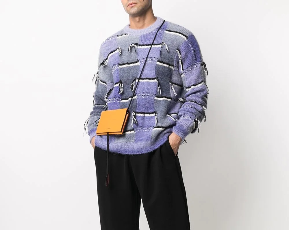 PAUSE or Skip: Marni Distressed-Effect Crew Neck Sweater