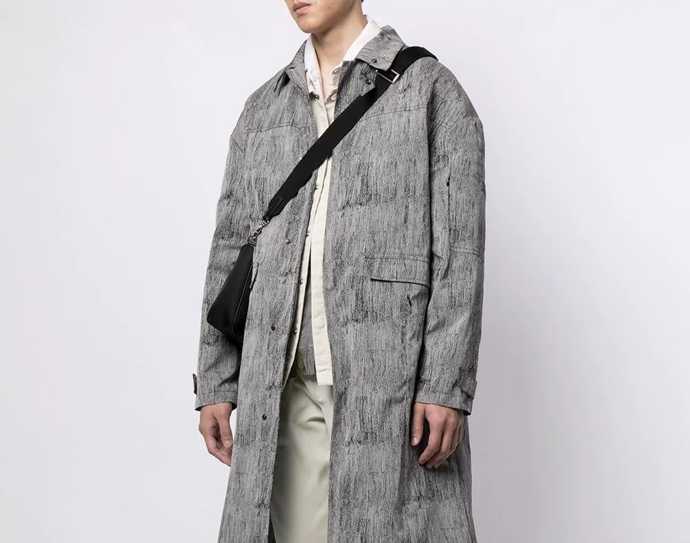 PAUSE or Skip: A-COLD-WALL* Abstract Padded Coat