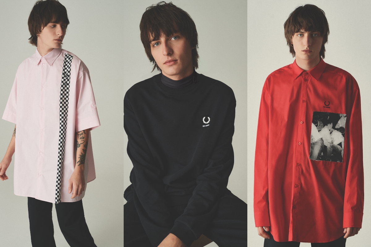 The Fred Perry x Raf Simons Collaboration Drops Online Today