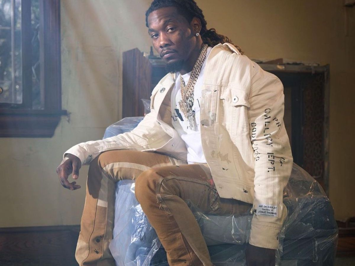 SPOTTED: Offset tapped as the face of Lanvin x Gallery Department Collab