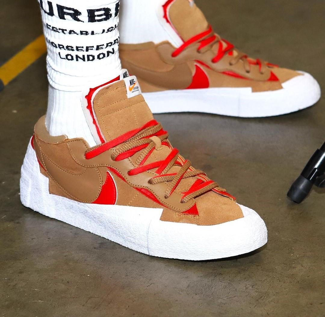 Lebron James Unveils unseen Nike X Sacai Blazer Lows