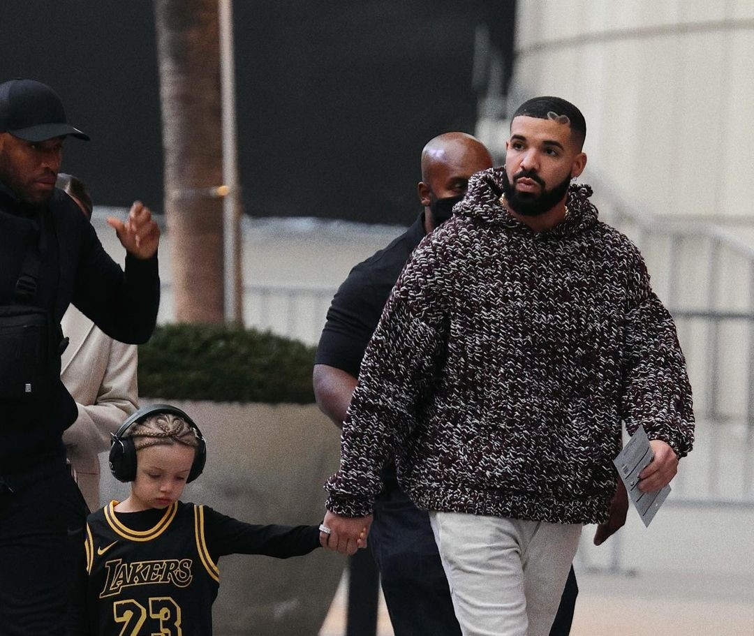SPOTTED: Drake and Adonis attend Basketball Game hand-in-hand