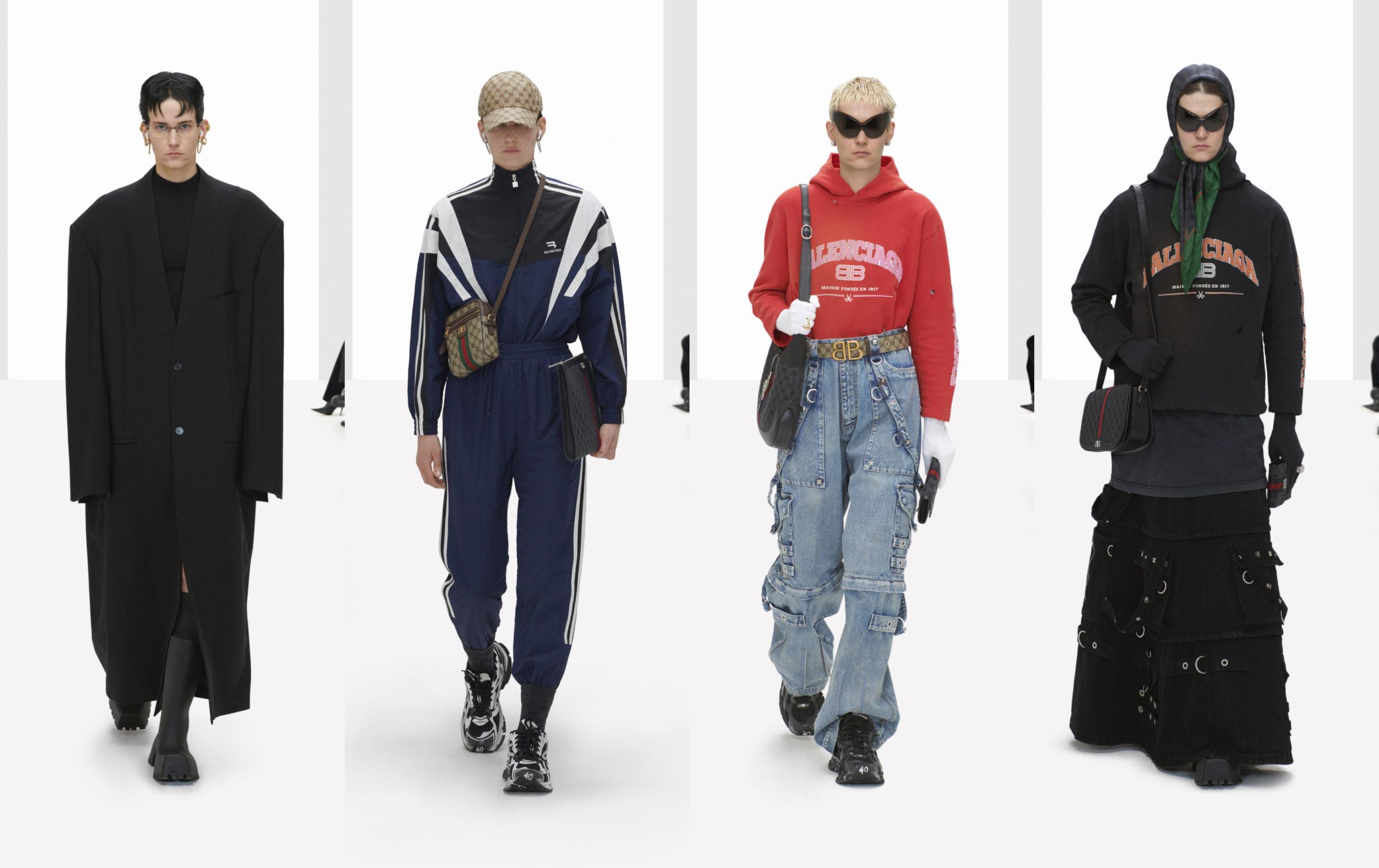 Balenciaga creates a deep fake Spring 2022 Collection