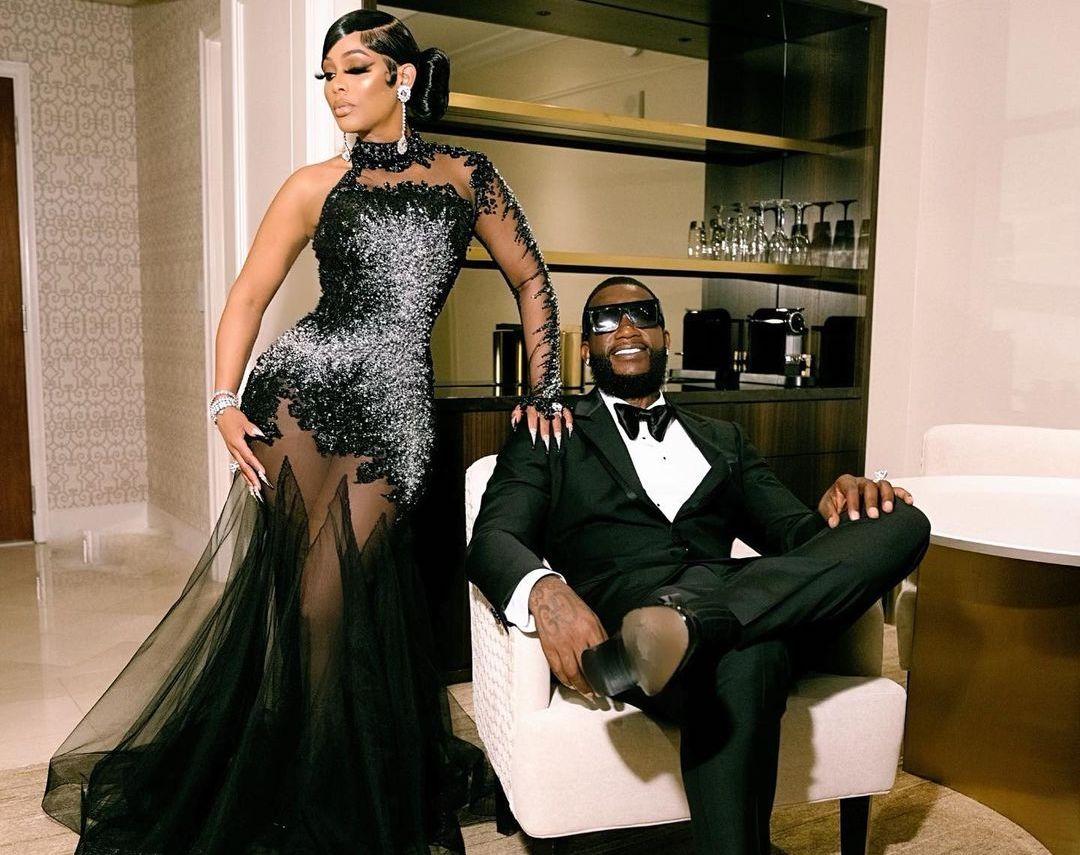 SPOTTED: Gucci Mane & wife Keyshia Ka'Oir go full Black Tie