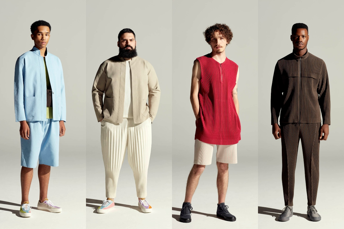 PFW: Homme Plissé Issey Miyake Spring/Summer 2022 Collection