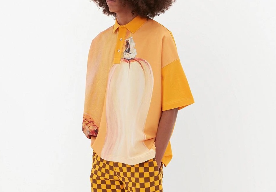 PAUSE or Skip: JW Anderson Oversized Polo Shirt