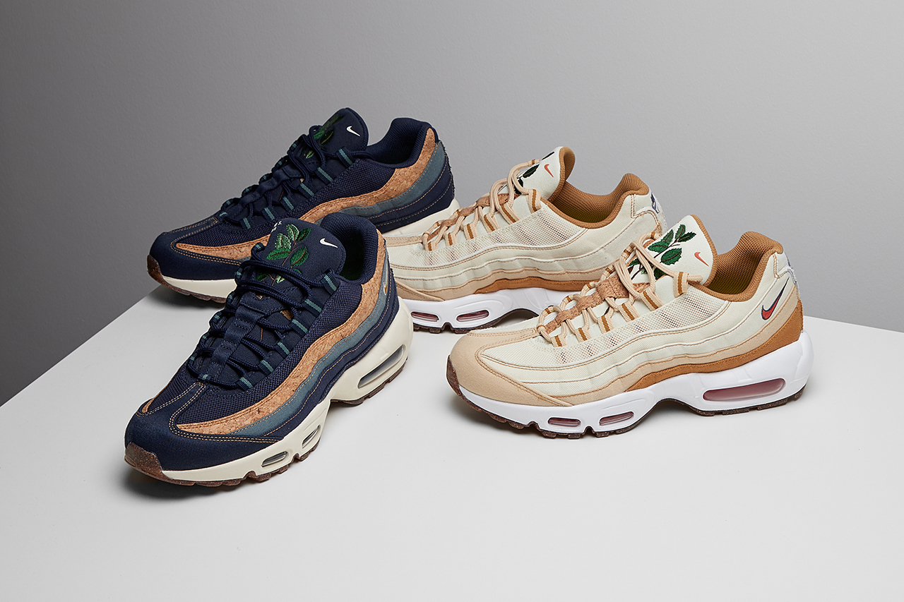 Nike reimagines its Air Max 95 using Sustainable Practices