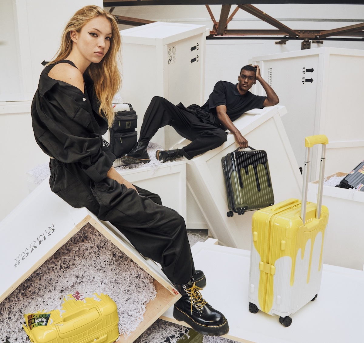 RIMOWA and CHAOS Team up for Collaborative Suitcase Collection