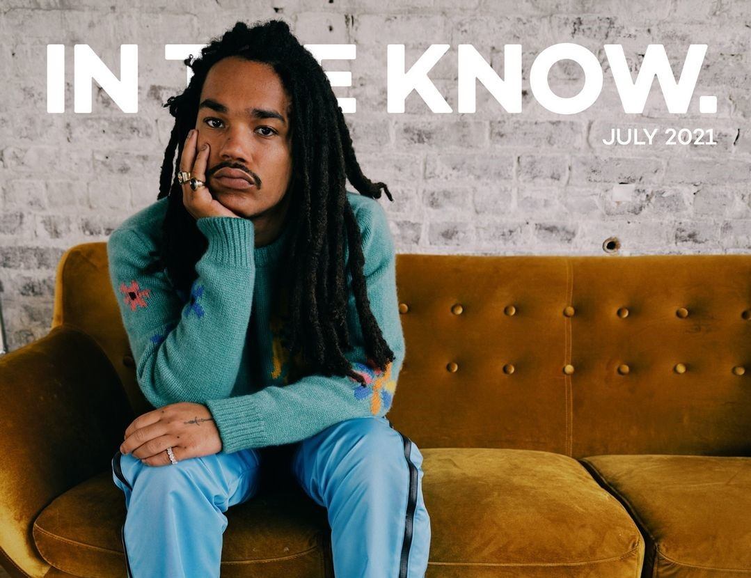 SPOTTED: Luka Sabbat Discusses Black Identity and Masculinity with In The Know
