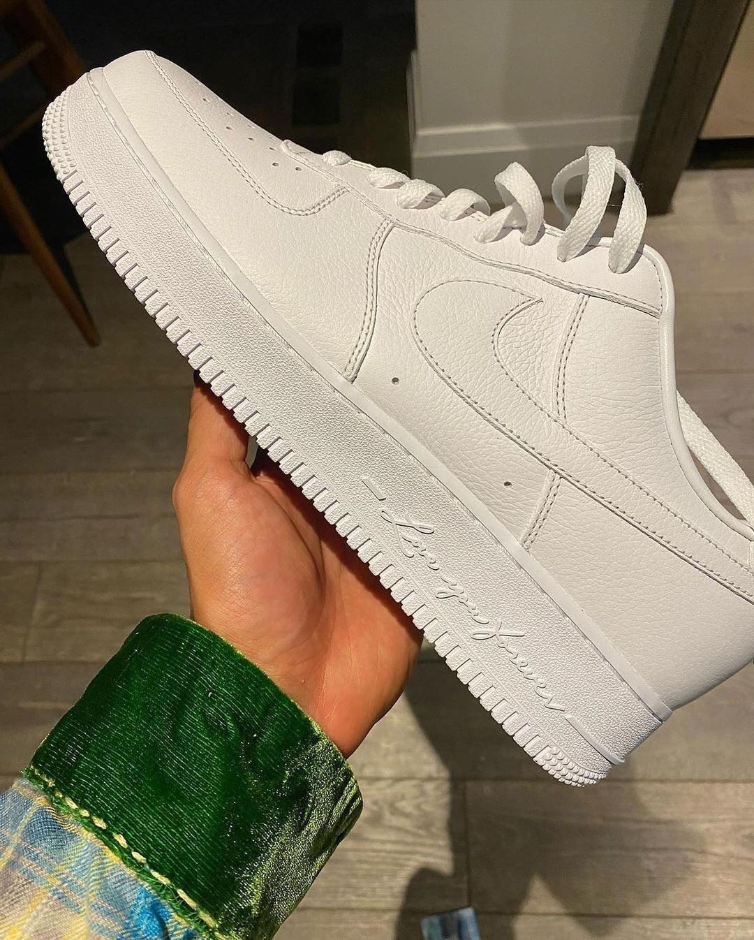 Images of a Drake X Nike Air Force 1 Collaboration Emerge