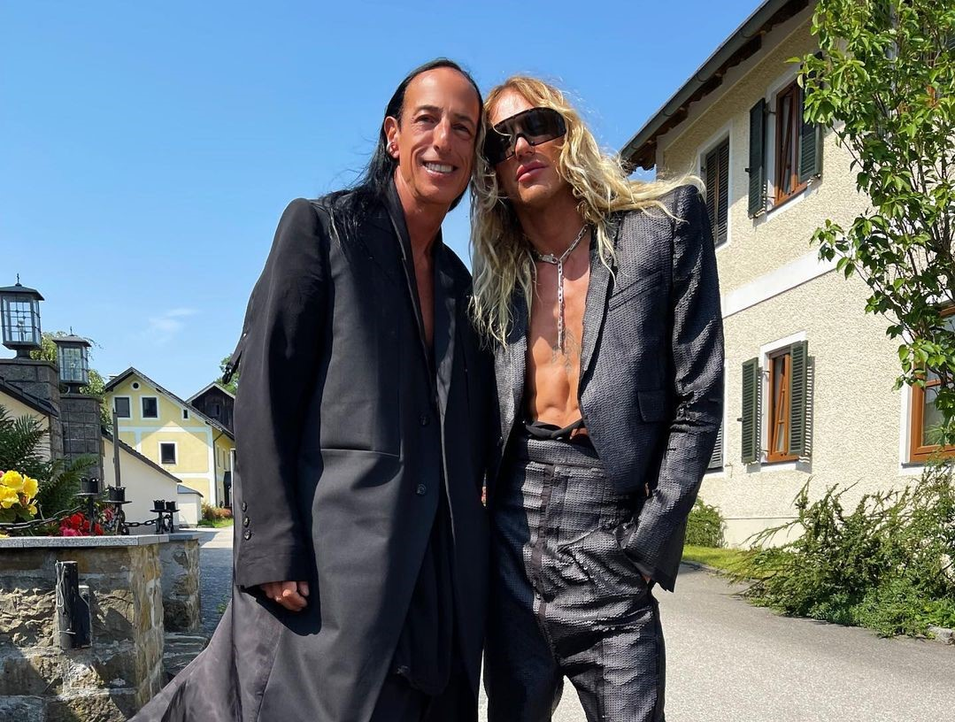SPOTTED: Rick Owens and Tyrone Dylan attend wedding in Expectedly Extravagant Fashion