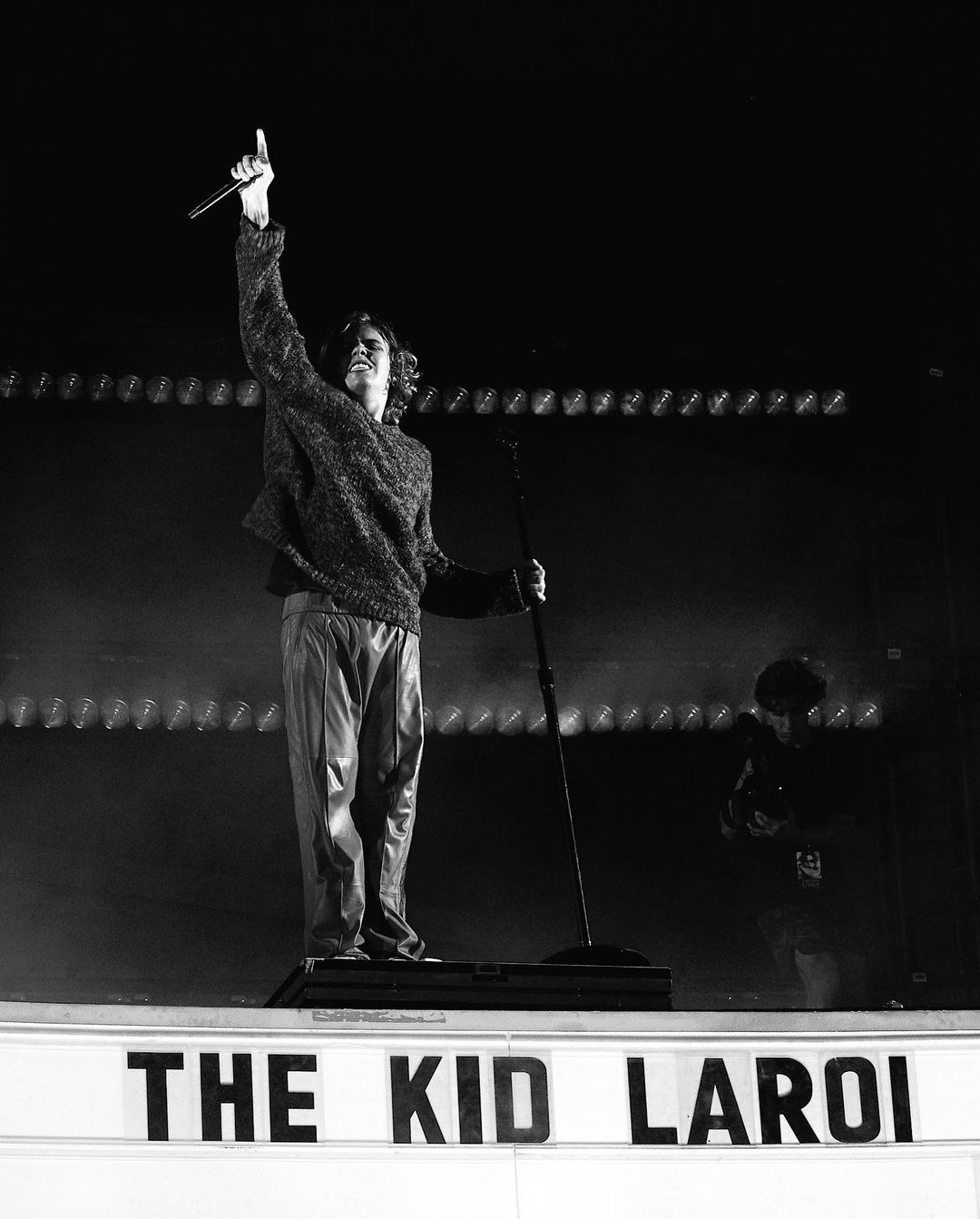 SPOTTED: The Kid Laroi Plays Surprise Show with Justin Bieber, Machine Gun Kelly and G Herbo