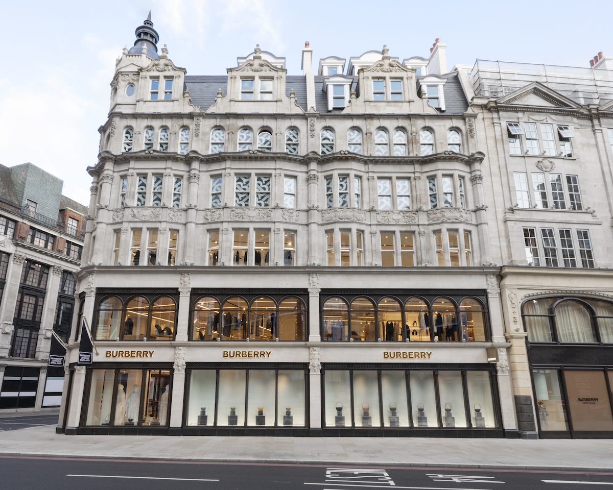 Burberry Open New Flagship Store on London's Sloane Street