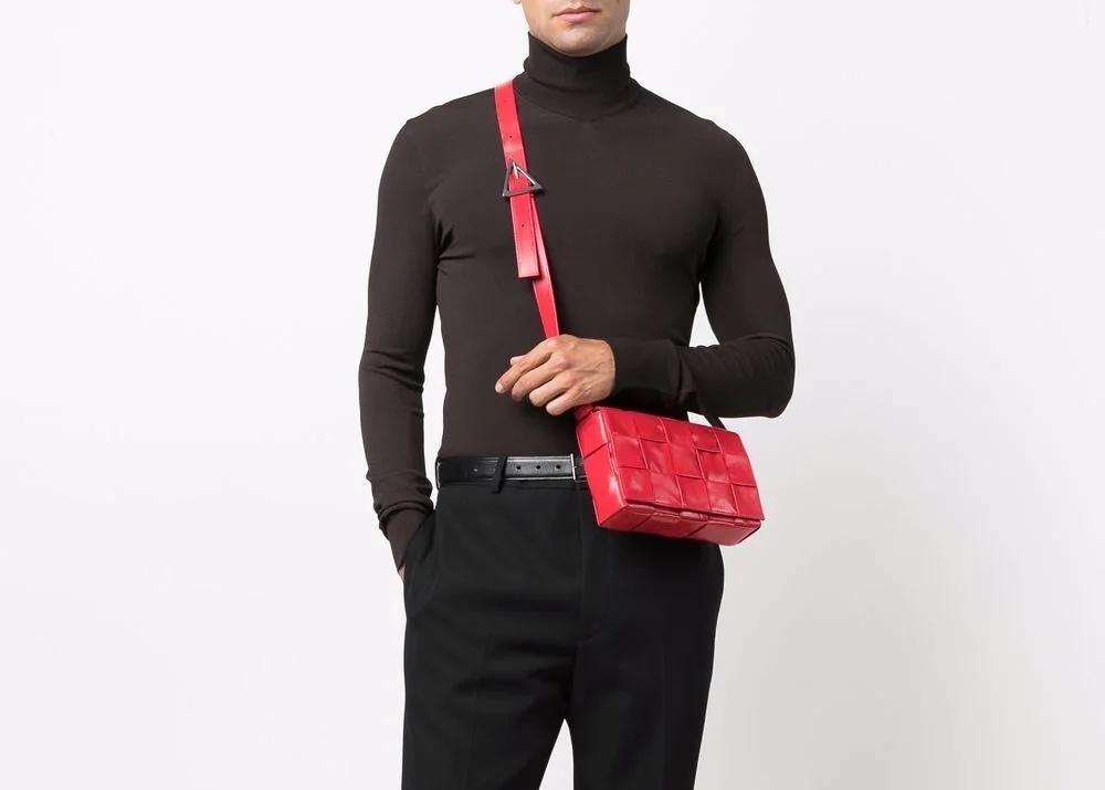 PAUSE or Skip: Bottega Veneta Maxi Intrecciato Messenger Bag