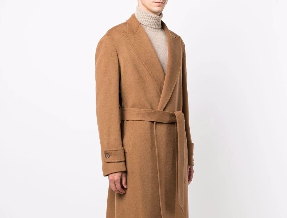 PAUSE or Skip: Tagliatore Peak Lapel Cashmere Coat