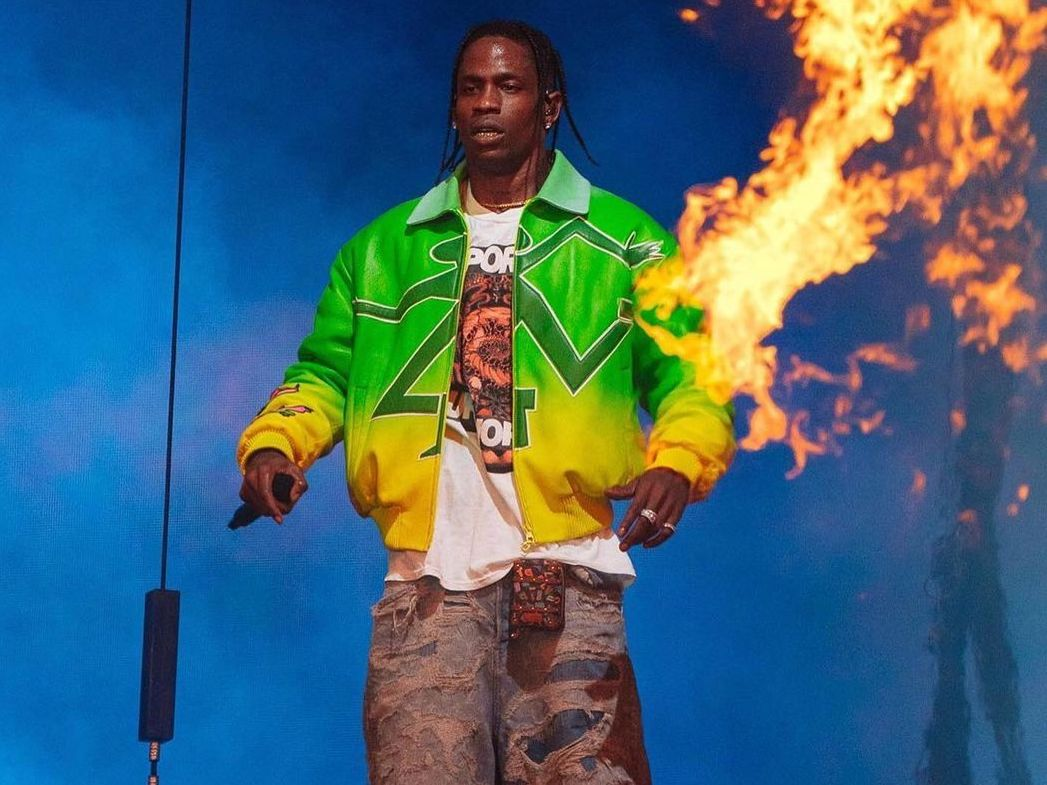 SPOTTED: Travis Scott Performs at Rolling Loud in Louis Vuitton