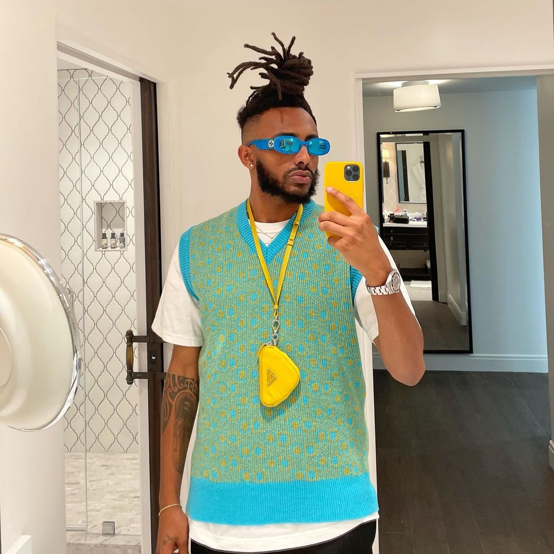 SPOTTED: Amine Serves Summer Styling Inspiration