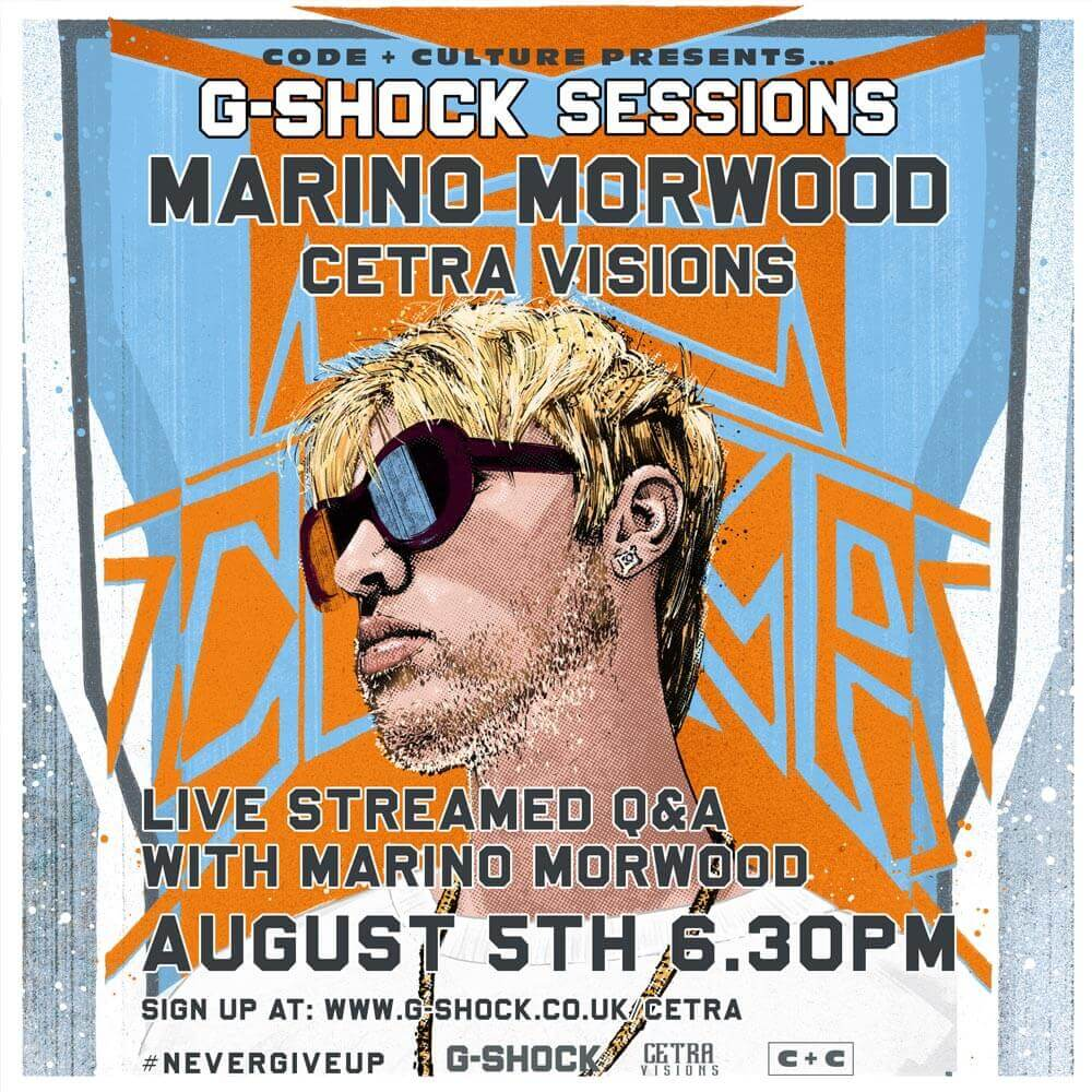 Marino Morwood is Running a Q&A Session With G-SHOCK