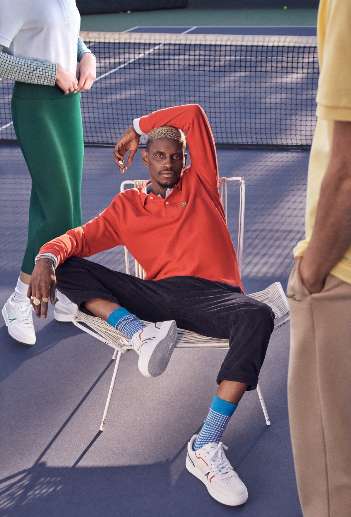 Lacoste Recruits A$AP Nast To Launch its L001 Sneaker