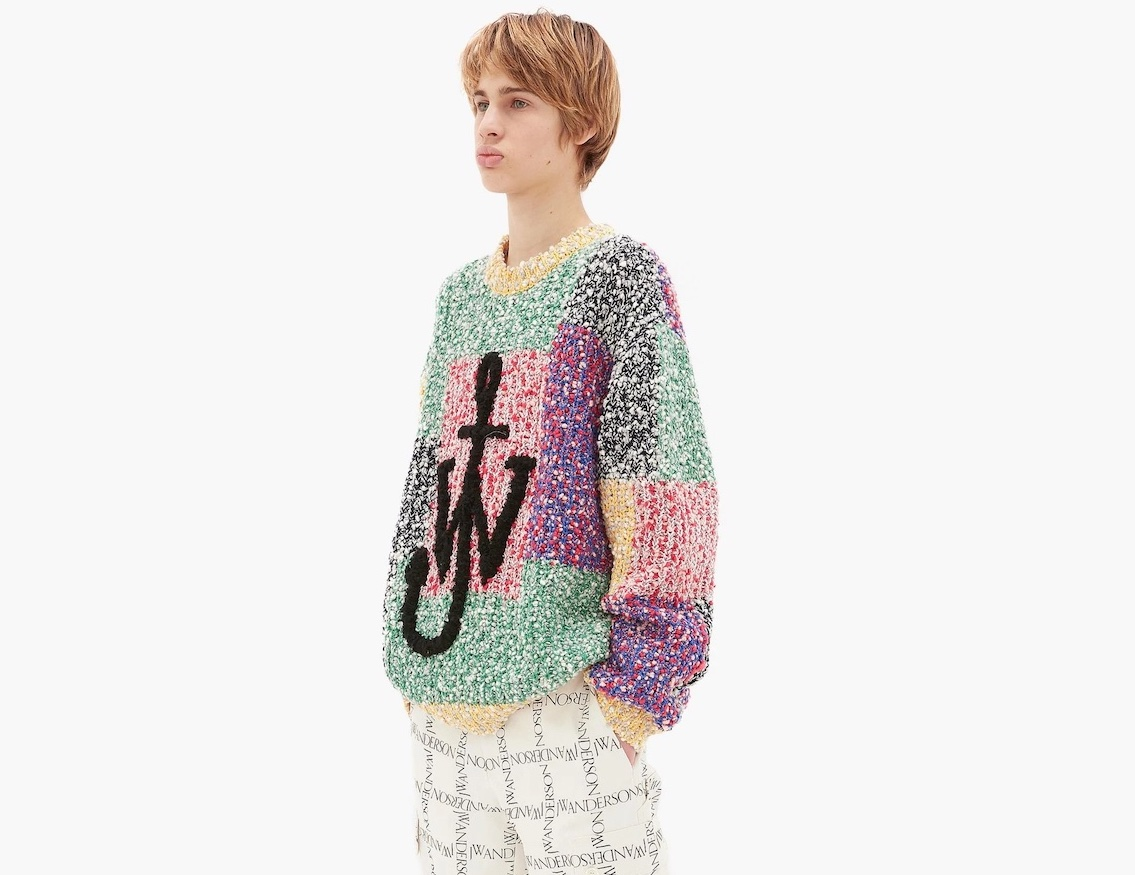 PAUSE or Skip: JW Anderson Anchor Patchwork Jumper