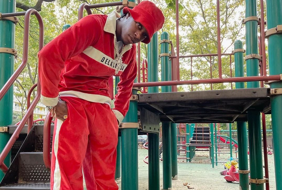 SPOTTED: Bloody Osiris in Head-to-Toe Red & Puma Suedes