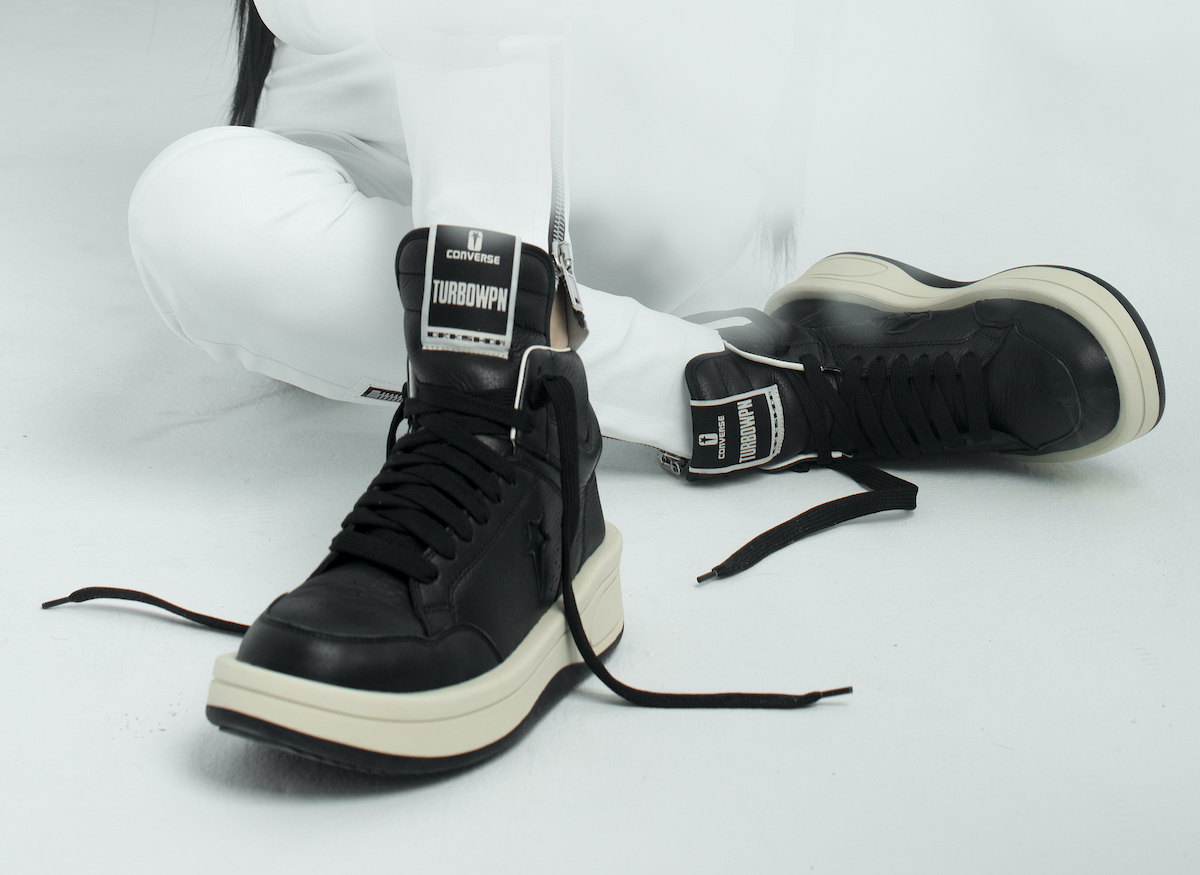 Converse Team up with Rick Owens DRKSHDW for Second Collab