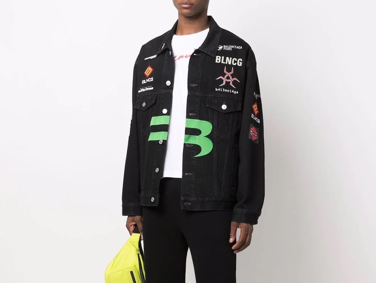 PAUSE or Skip: Balenciaga Gamer Denim Jacket