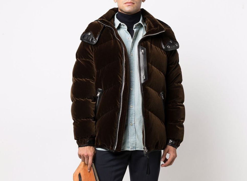 PAUSE or Skip: Tom Ford Velour Padded Jacket