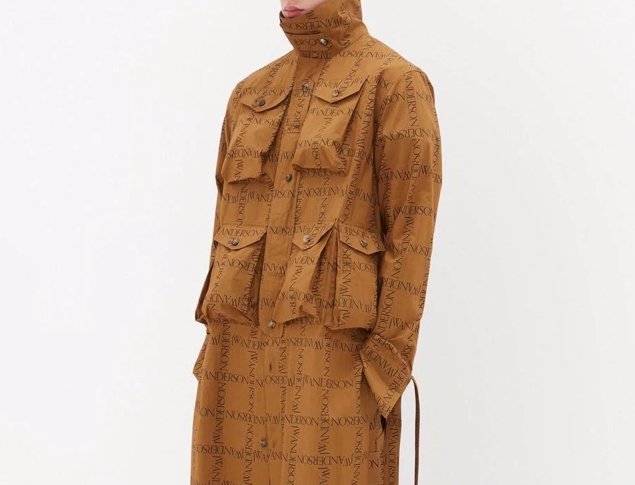 PAUSE or Skip: JW Anderson Military Shirt Tunic