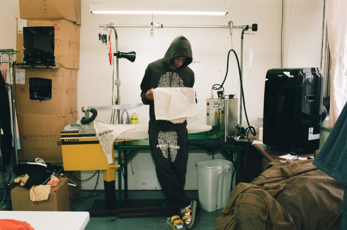 Get a Behind-The-Scenes Look at Pierre Bassene World's Latest Collection