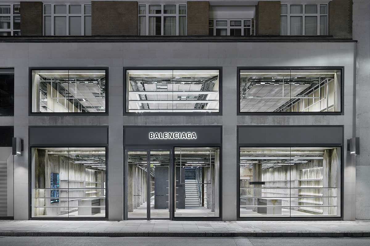 Balenciaga debut new Store Concept with London Sloane Street Opening