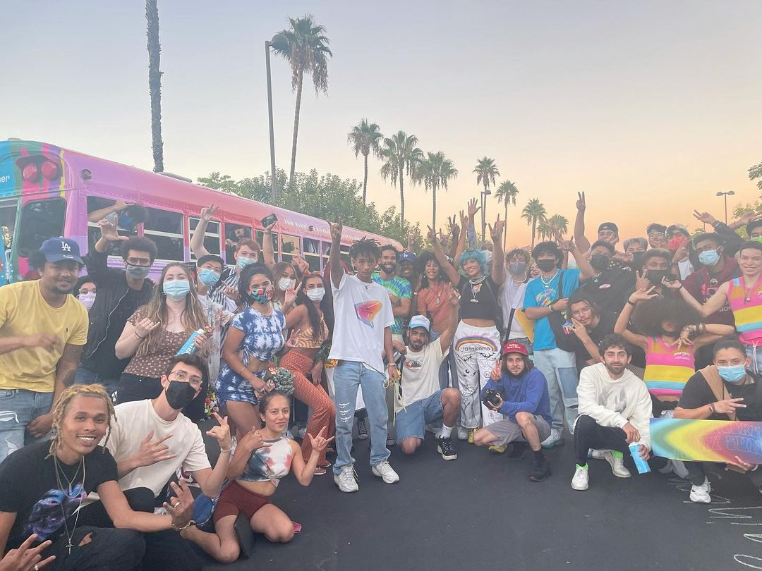 SPOTTED: Jaden Smith Meets Fans at Calabasas Day Event