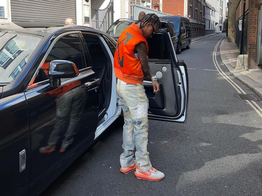 SPOTTED: Swae Lee Steps out in London
