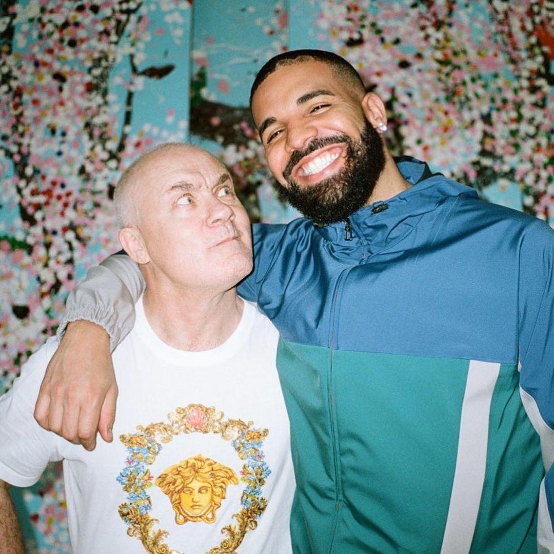 SPOTTED: Drake Visits Damien Hirst's London Studio