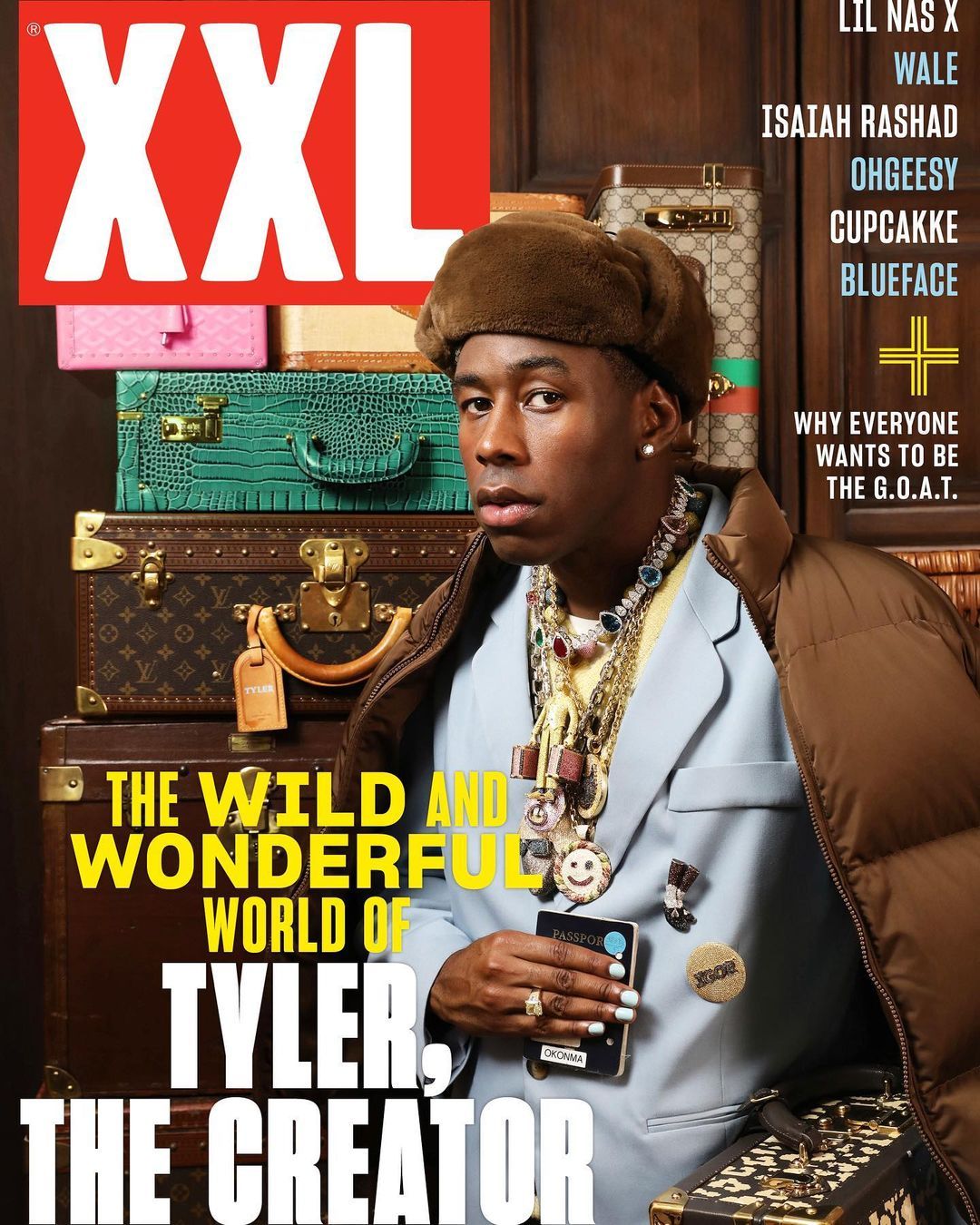 SPOTTED: Tyler, The Creator Dons his Jewels For XXL Magazine Cover