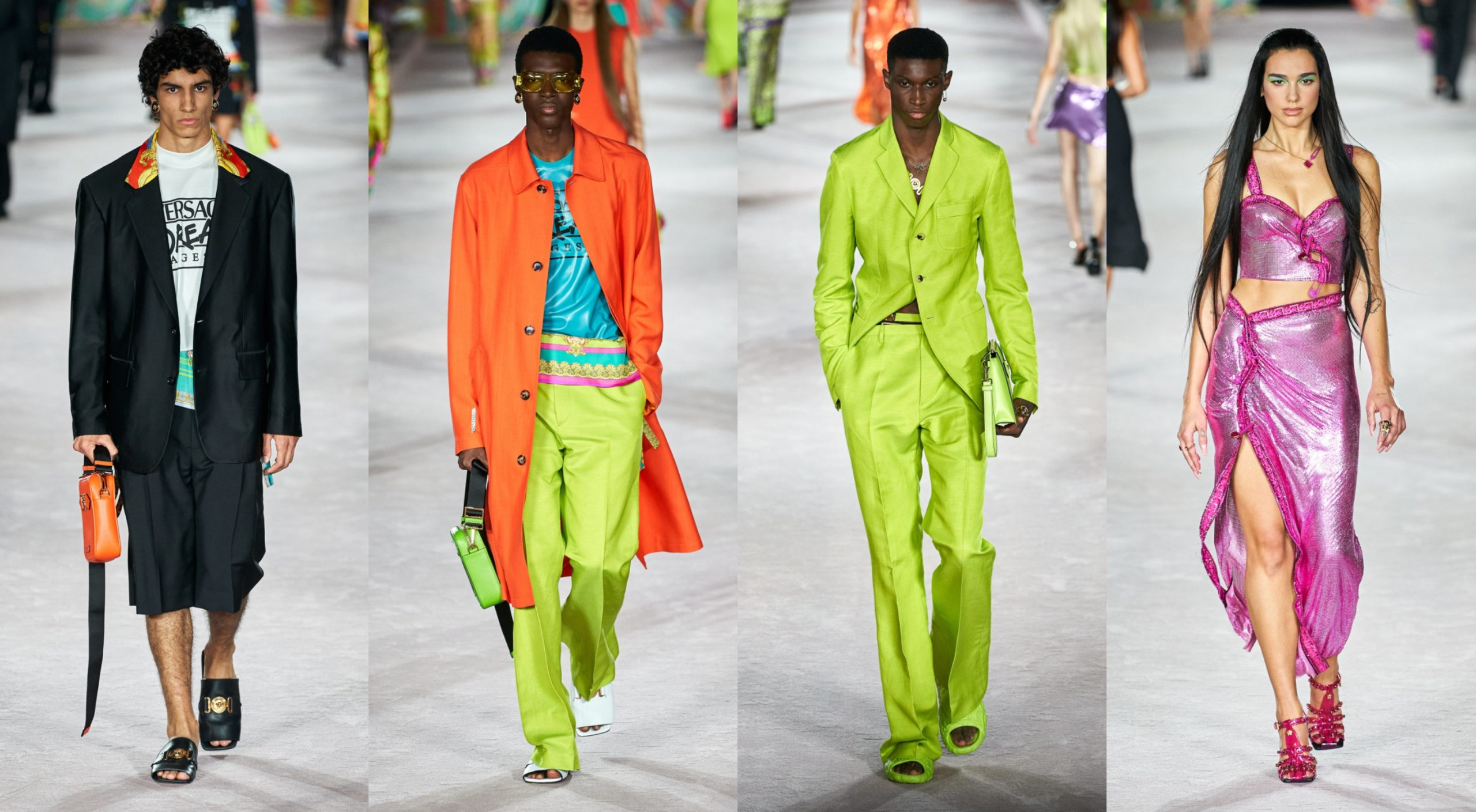 MFW: Versace Spring/Summer 2022 Collection